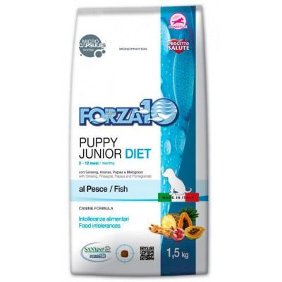 forza10 puppy junior diet fish dla szczeniąt