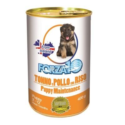 forza10 maintenance puppy pasztet z tuńczykiem kurczakiem i ryzem