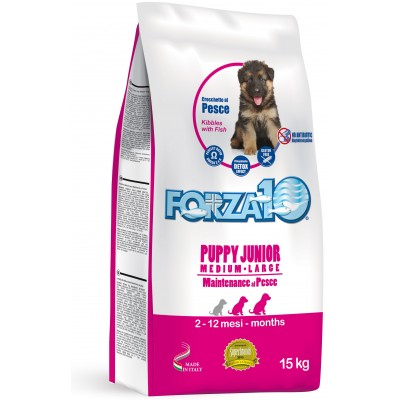 forza10 puppy junior z rybą