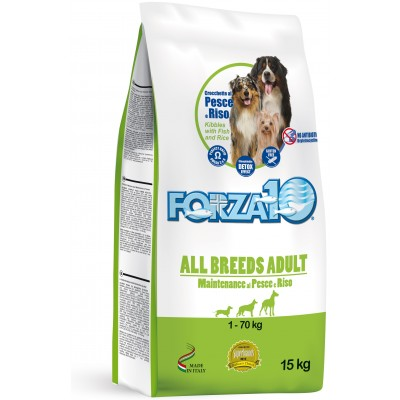 forza10 all breeds maintenance z rybą i ryżem
