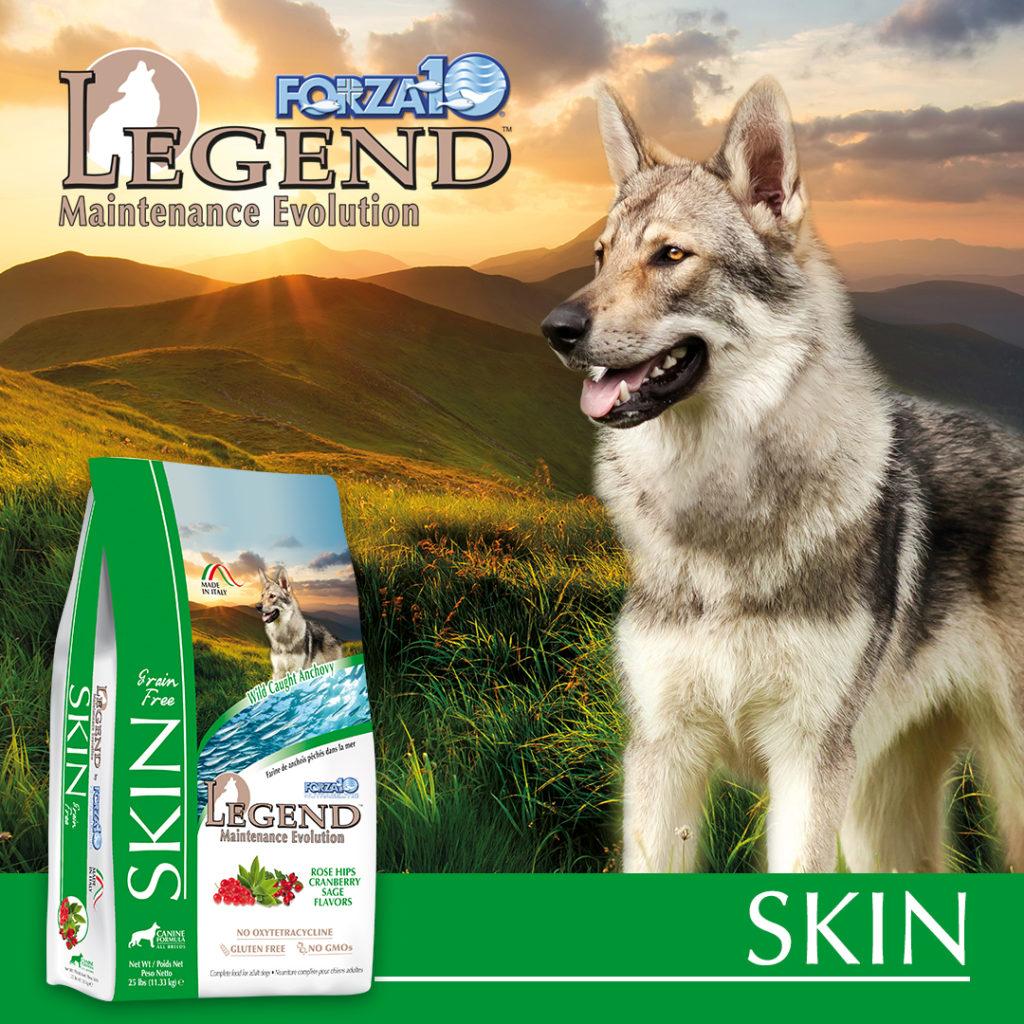 Legend Skin: najlepsza karma dla psów na alergie skórne