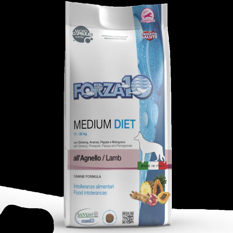 Forza10 Medium diet Jagnięcina i ryż